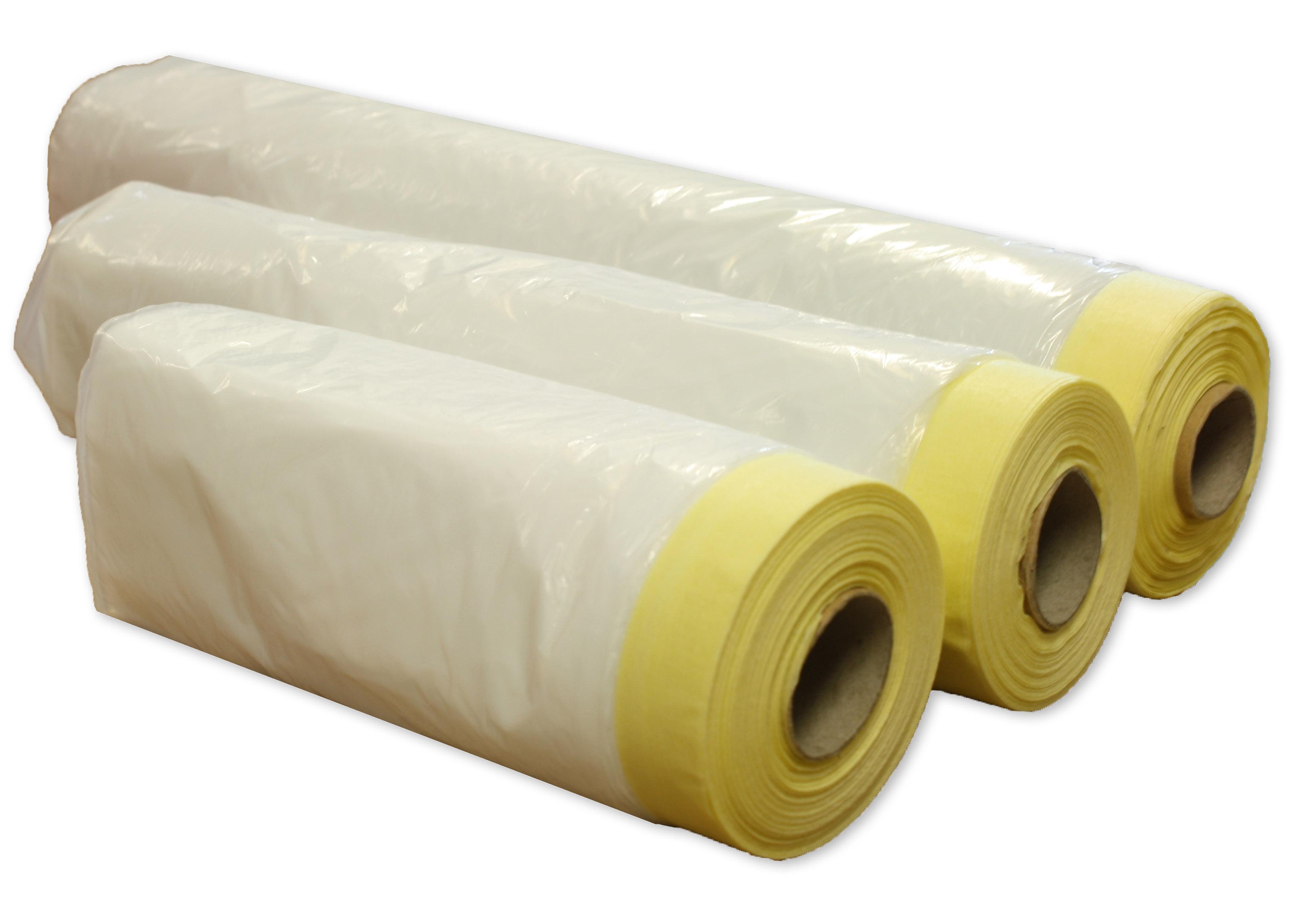 Rotolo film plastica prenastrato