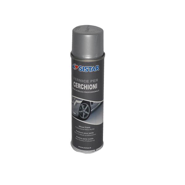 Smalto Acrilico HS Spray Alluminio Ruote