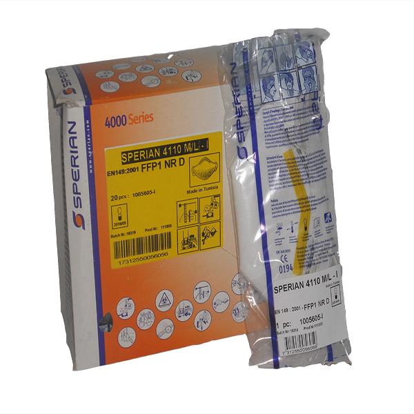 Mascherine antipolvere s/filtro Sperian